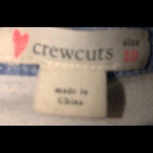 Crewcuts Dresses - Crew Cuts Size 10 Girls Linen Dress